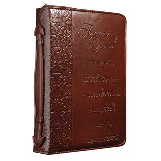 Amazing Grace Lux-Leather Large Bible Cover