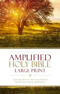 Amplified Bible Large Prin (New)t, Hard Cover