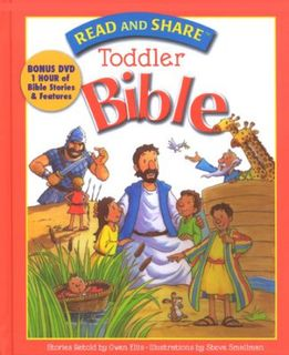 Read and Share Toddler Bible Hardcover [With DVD]