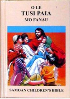 Samoan Children's Revised Bible Compact Size Hardcover