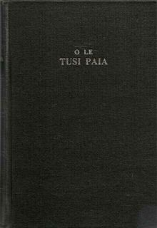 Samoan Reference Bible Revised Version (O Le Tusi Paia) Hard Cover