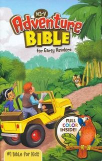 NIrV Adventure Bible for Early Readers, Hardcover Full Colour