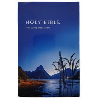 NLT Bible Mitre Peak, Softcover