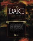 Dake Annotated Reference Bible KJV, Large Note, Bonded Leather