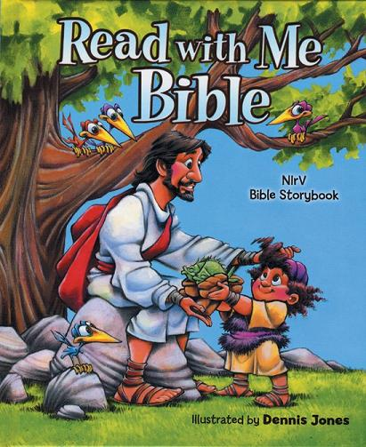 NIrV Read with Me Bible, Hard Cover