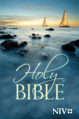 NIV Larger Print Bible Paperback