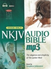 NKJV Audio Bible, Voice Only (MP3 CD)