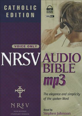 NRSV Audio Bible Catholic Edition on MP3 - Voice Only