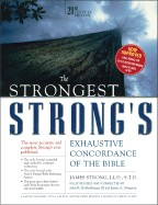 Strongest Strong's Exhaustive Concordance of the Bible, Large Print, Hardcover