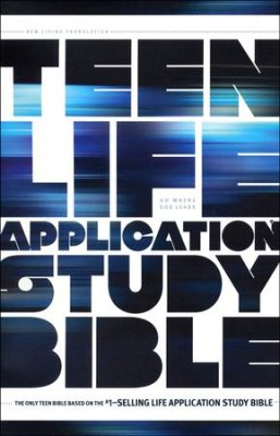 NLT Teen Life Application Study Bible Softcover