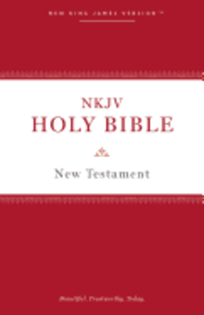 NKJV, Holy Bible New Testament, Paperback