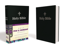 NRSV Pew and Worship Bible, Hardcover, Black, Comfort Print