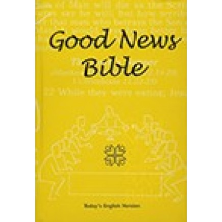 Good News Bible Standard Hard Cover Yellow with Dust Jacket