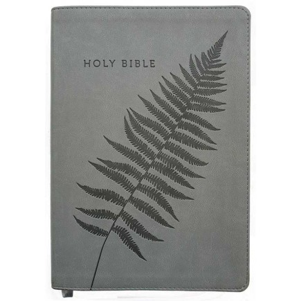 NLT Bible Grey Fern Flexitone